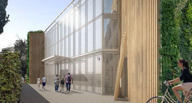 L'edifici de la futura Oficina d'Entitats i Voluntariat serà el primer a tenir el certificat d'emissions quasi nul·les