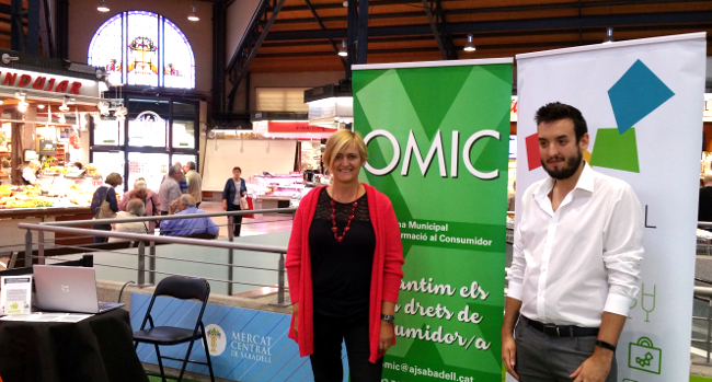 L'Oficina Municipal d'Informació al Consumidor (OMIC) arriba ara als mercats municipals