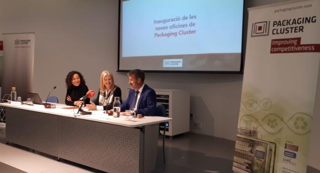 El Packaging Clúster de Catalunya s'instal·la al Centre d'Empreses Industrials de Can Roqueta