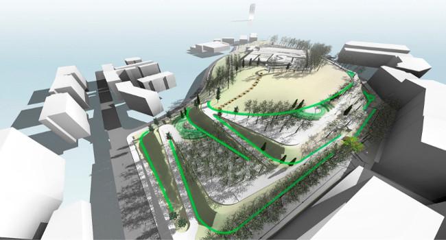 Les dues primeres fases d'obres del parc de les Aigües s'han acabat i la tercera començarà el proper trimestre
