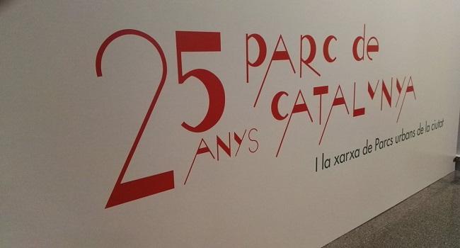 L'exposició sobre el 25è aniversari del parc de Catalunya comença un viatge per diferents barris