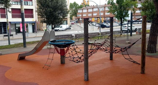 Comencen les obres de modernització del parc de Nostra Llar