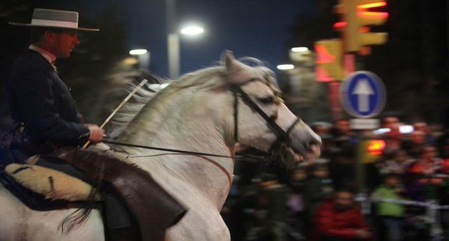 La Passada, l'activitat principal de la festa de Sant Antoni Abat, torna aquest dimecres