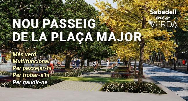 Nou Passeig de la Plaça Major