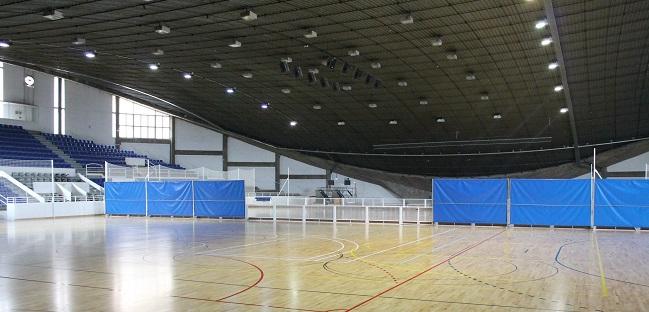 El Pavelló Municipal d'Esports estrena noves pistes, després d'una remodelació integral