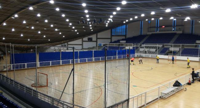 La nova il·luminació del Pavelló Municipal d'Esports permet estalviar electricitat