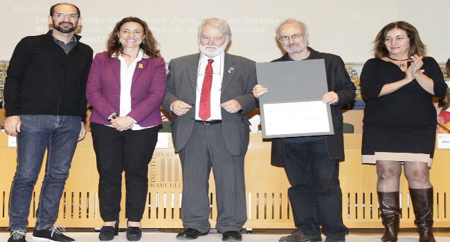 Un treball municipal sobre el centre de Sabadell, premiat per l'Institut d'Estudis Catalans