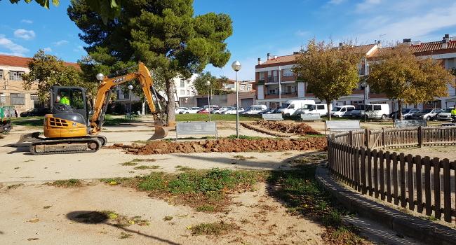Comencen unes obres de millora a la plaça Laietana
