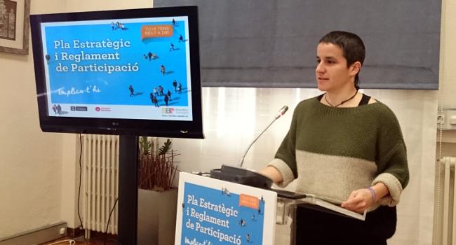 El Pla Estratègic de Participació promourà la participació activa, la democràcia, la tolerància, i el debat entre la ciutadania
