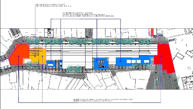 La pavimentació de part del Passeig permetrà recuperar nous espais per a l'ús de la ciutadania