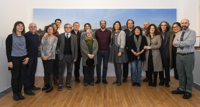 El plenari de la Xarxa de Museus d'Art de Catalunya s'ha reunit aquest matí al Museu d'Art