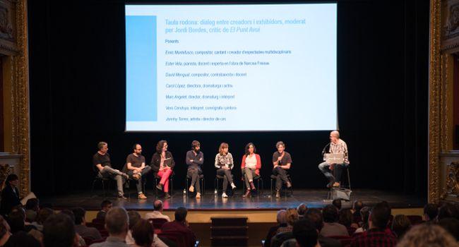 Sabadell ha acollit avui una trobada amb un centenar de programadors culturals de tot Catalunya