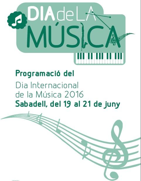 Sabadell se suma a la celebració del Dia de la Música amb un programa d'activitats al carrer i a diversos espais de la ciutat