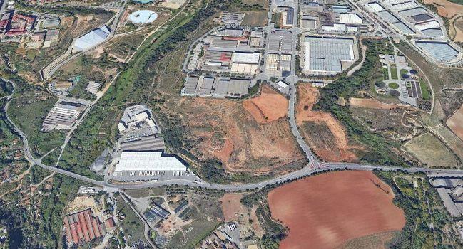 Una nova rotonda millorarà l'accés a la zona industrial de Can Roqueta