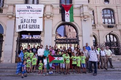 Una desena de nens i nenes sahrauís passen l'estiu a la ciutat dins del projecte Vacances en pau