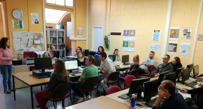 86 participants a l'Espai de Recerca de Feina ubicat al Vapor Llonch troben un lloc de treball