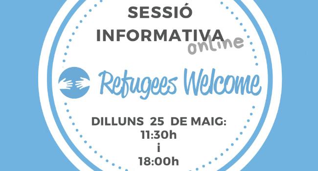 Sessió informativa de Refugiats Benvinguts i l'Ajuntament de Sabadell per continuar promovent la cultura de benvinguda a la ciutat