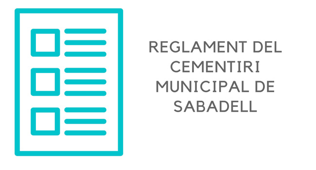 El Reglament i l'Ordenança fiscal del Cementiri s'actualitzaran per respondre millor a les necessitats de la ciutadania