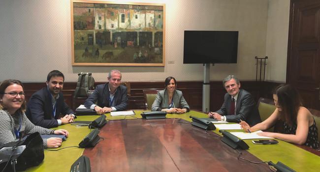 Marta Farrés defensa davant el secretari d'Estat d'Infraestructures que es prioritzi la B-40