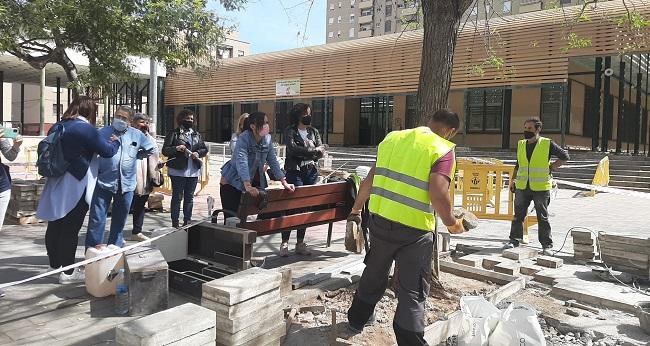 Dins el Pla COVID, l'Ajuntament ha contractat aquest mes 30 persones en atur per fer obres i serveis en benefici de la ciutat