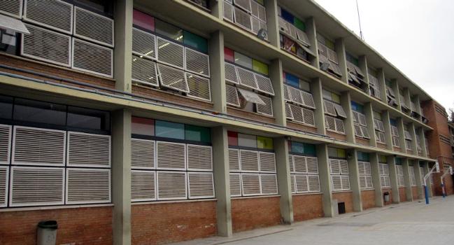 L'Escola La Romànica renovarà les proteccions solars de les aules