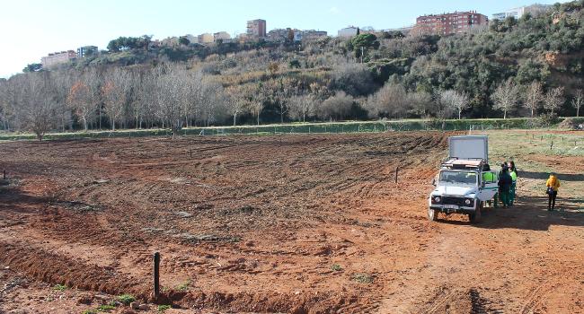 S'obre la convocatòria per optar a les primeres parcel·les de l'horta municipal d'en Romau