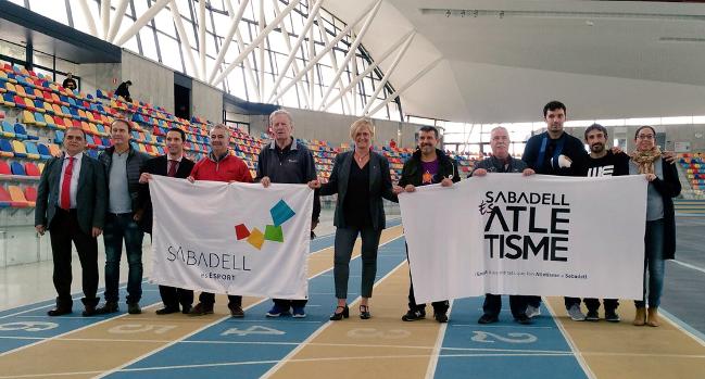 L'Ajuntament i el nou club Sabadell és Atletisme col·laboraran per  promoure les curses de la ciutat