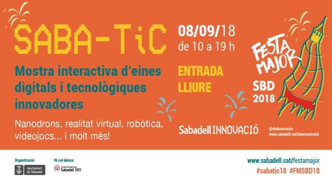 """La mostra """"Saba-TIC"""" es consolida com un dels esdeveniments principals vinculats a les noves tecnologies"""