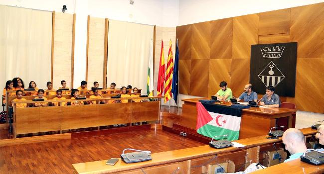 Una vintena de nens i nenes sahrauís passaran l'estiu a Sabadell en el marc del projecte Vacances en Pau