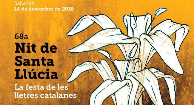 Durant la 68a Nit de Santa Llúcia d'Òmnium Cultural es lliuraran els premis més rellevants de les lletres catalanes