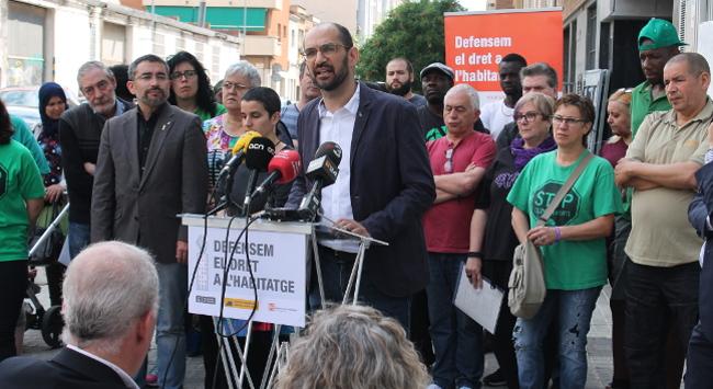 Es regularitzen els 40 habitatges del primer bloc ocupat per la PAHC i cedit a l'Agència de l'Habitatge de Catalunya