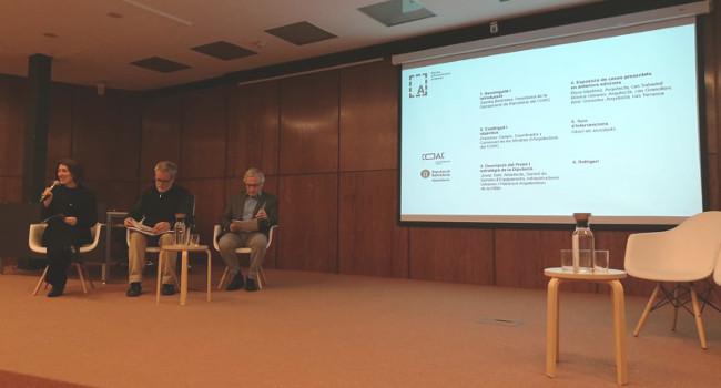 L'Ajuntament presenta Sabadell Teixint Ciutat al Col·legi d'Arquitectes com a acció innovadora en la gestió de la ciutat