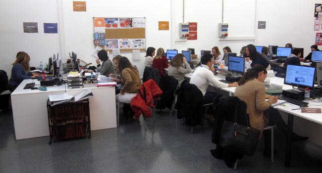 El 60% de l'alumnat del curs municipal de gestió administrativa per a persones en atur troben feina