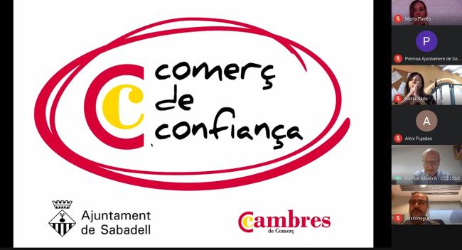 """L'Ajuntament i la Cambra de Comerç impulsen el segell """"Comerç de Confiança"""" entre els comerços de la ciutat"""