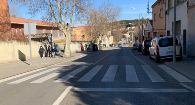 La semaforització del pont de la Salut proporcionarà major seguretat als vianants de la zona de Ca la Daniela i Raval d'Amàlia