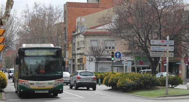 Més reforços al servei d'autobús, per afavorir un major distanciament entre persones dins els vehicles