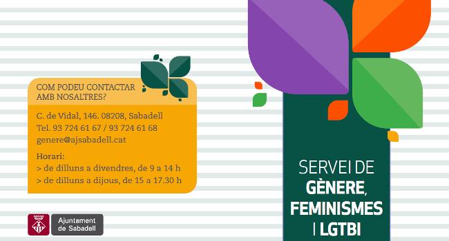 Neix el Servei d'Atenció i Acompanyament LGTBI per donar suport a aquests col·lectius i lluitar contra la discriminació