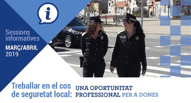 Segona edició de les sessions informatives per incentivar la presència de dones en els cossos de seguretat