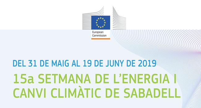 Sabadell participa en la 15a Setmana de l'Energia i el Canvi Climàtic amb una cursa solar i diverses jornades