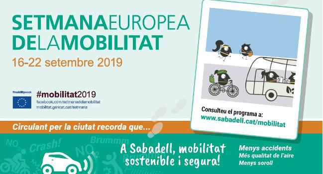 La Setmana Europea de la Mobilitat inclou xerrades, jocs i activitats diverses