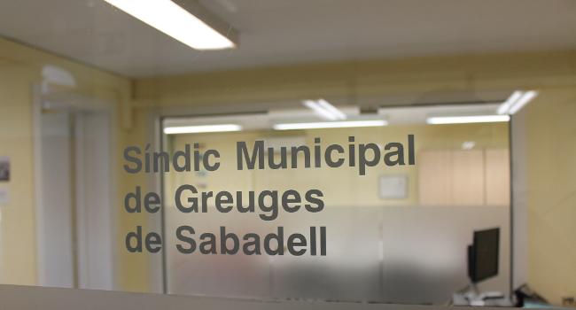 S'obre un nou termini per presentar candidatures al càrrec de síndic o síndica municipal de greuges