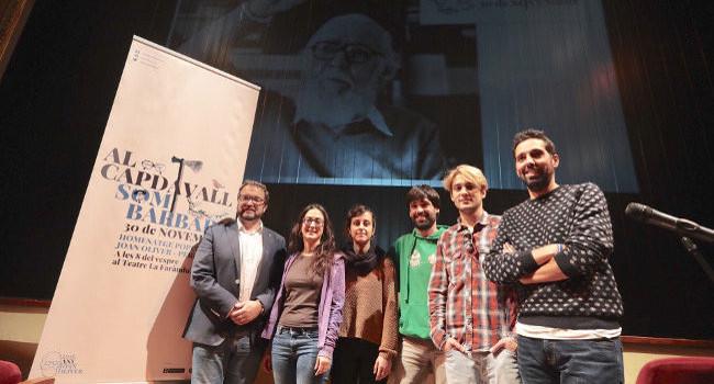 L'espectacle d'homenatge popular a Joan Oliver reunirà més de 30 artistes al Teatre La Faràndula de Sabadell