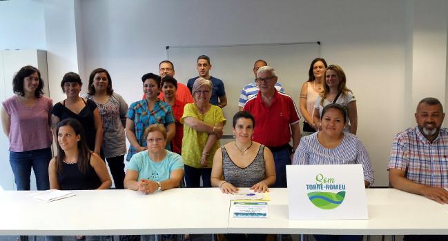 """El Pla d'Intervenció Comunitària """"Som Torre-romeu"""" duu a terme diferents actuacions per millorar el barri"""