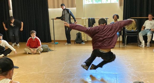 Guanyadors del concurs de danses urbanes Be Soul Battle