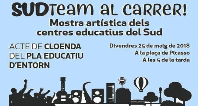 El Pla Educatiu d'Entorn del Sud celebra la cloenda del curs amb una mostra d'activitats artístiques de l'alumnat