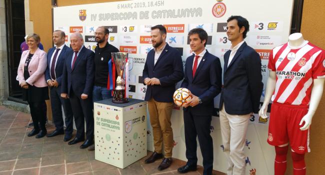 L'estadi de la Nova Creu Alta  serà escenari de la Supercopa de Catalunya, entre el FC Barcelona i el Girona FC