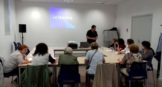 Cloenda dels tallers de memòria i lectoescriptura per a la gent gran