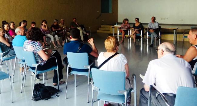 La mobilitat centra una nova trobada participativa al barri de Can Llong