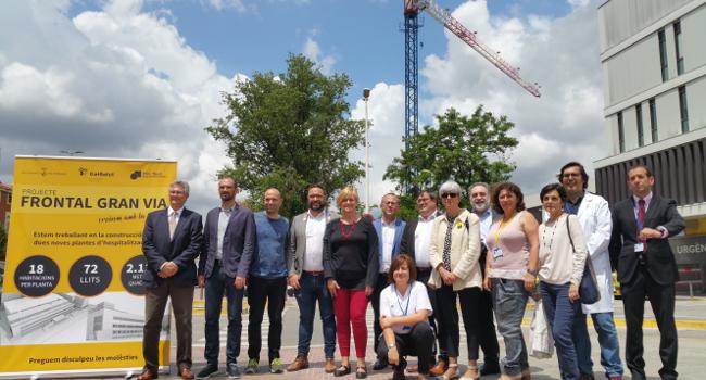 El Parc Taulí estrenarà el 2019 dues noves plantes d'hospitalització amb 72 llits al frontal de la Gran Via