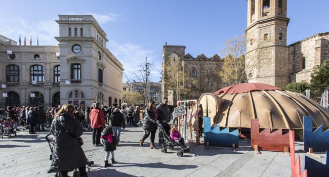 Teixint el Nadal, el parc nadalenc de Sabadell, s'estén al nord i sud de la ciutat
